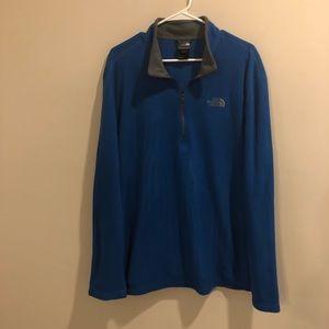 The North Face Fleece pullover quart zip jacket